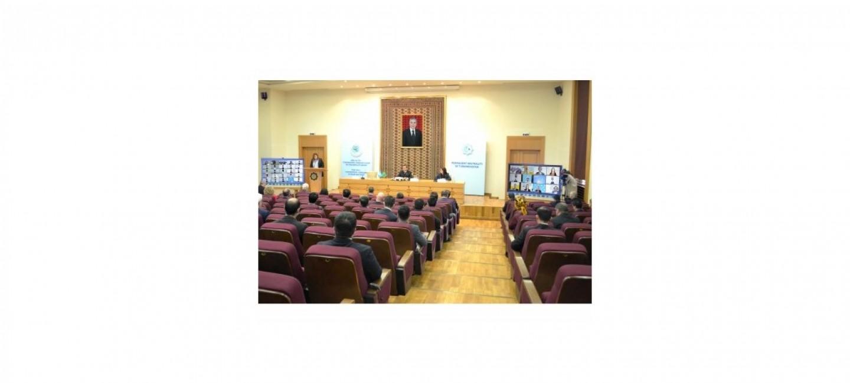 В АШХАБАДЕ СОСТОЯЛАСЬ МЕЖДУНАРОДНАЯ КОНФЕРЕНЦИЯ «ТУРКМЕНИСТАН И ОРГАНИЗАЦИЯ ОБЪЕДИНЕННЫХ НАЦИЙ: СОТРУДНИЧЕСТВО В ИНТЕРЕСАХ МИРА И ДОВЕРИЯ»