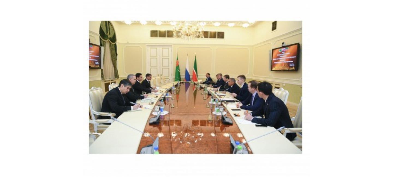 TÜRKMENISTANYŇ SENAGAT WE GURLUŞYK ÖNÜMÇILIGI MINISTRINIŇ RUSSIÝA FEDERASIÝASYNYŇ TATARSTAN RESPUBLIKASYNA SAPARY